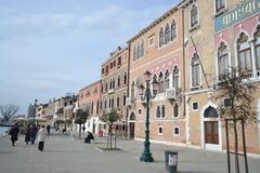 Embankment of Canale della Giudecca Royalty Free Stock Image