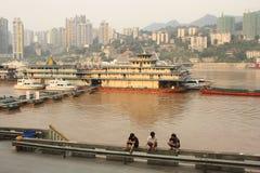 Embankment of Chongqing, China Stock Photo
