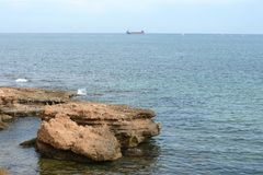 Embankment in city Torrevieja. Royalty Free Stock Photography