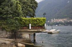 Embankment of Como lake. Italy Royalty Free Stock Photos