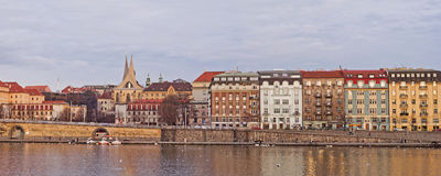 Embankment in Dresden Royalty Free Stock Photo