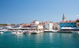 Embankment. Fazana.Croatia Stock Photography