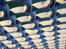 Embankment fence detail Royalty Free Stock Photos