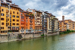 Embankment in Florence Royalty Free Stock Photo
