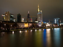 Embankment in Frankfurt am Main Stock Image