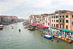 Embankment of Grand Canal. Venice. HDR Stock Images