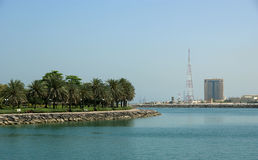 Embankment of the Gulf of Oman Royalty Free Stock Photography