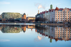 Embankment in Helsinki Royalty Free Stock Photography