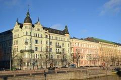 Embankment in Helsinki, Finland Stock Image