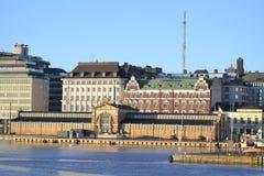Embankment in Helsinki, Finland Royalty Free Stock Photos