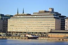 Embankment in Helsinki, Finland Royalty Free Stock Photo