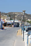Embankment in Kefalos Stock Photos