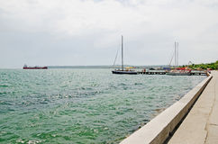 Embankment in Kerch Royalty Free Stock Images