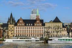 Embankment of Main, Frankfurt, Germany Stock Photography