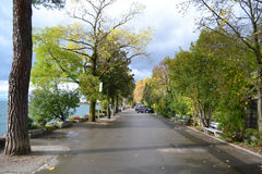 Embankment in Montreux Stock Photos