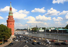 Embankment in Moscow. Stock Photography