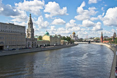 Embankment of the Moskva River Stock Photo