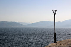 Embankment near Nafplio, Greece Stock Photos