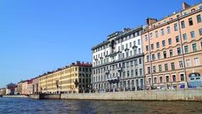 Embankment of the Neva River Royalty Free Stock Image