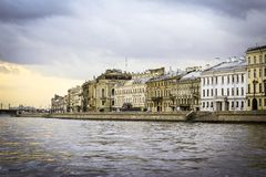 Autumn in St. Petersburg, Russia. royalty free stock photos