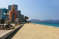 Embankment in Nha Trang Royalty Free Stock Photos