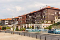 Embankment of old Nesebar in Bulgaria Stock Photo