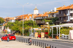 Embankment of old Nesebar, Bulgaria Stock Photography