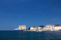 Embankment in Porec Stock Images