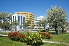 Embankment in Rimini, Italy. Royalty Free Stock Photography