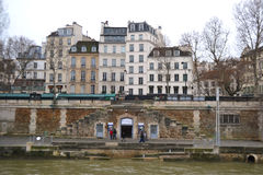 Embankment of the river Seine in Paris Royalty Free Stock Photography