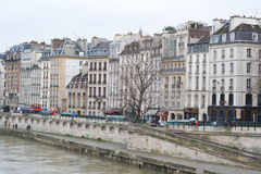 Embankment of the river Seine in Paris Royalty Free Stock Photo