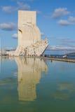 Embankment of river Tagus, Lisbon, Portugal Royalty Free Stock Photos