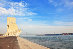 Embankment of the River Tagus Stock Images