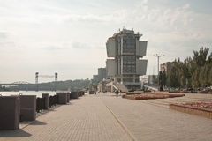 Embankment of Rostov-on-Don Stock Photography