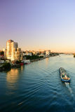 Embankment of Rostov-on-Don. Russia. Stock Image