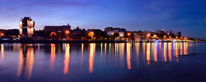 Embankment of Rostov-on-Don. Russia Royalty Free Stock Photos
