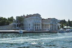 Embankment in Sevastopol in Crimea Royalty Free Stock Image