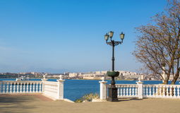 Embankment of Sevastopol Royalty Free Stock Photography