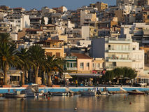 The embankment of sitia town view Stock Image