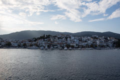 Embankment, Skiathos Stock Image