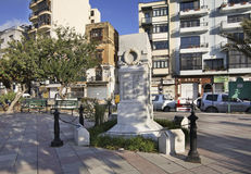 Embankment in Sliema (Tas-Sliema). Malta island.  royalty free stock images