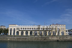 Embankment Sochi. 2014 administrative building spring Stock Images
