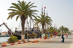 Theembankment in Sousse, Tunisia Stock Images