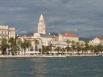 Embankment of Split royalty free stock photos