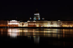 Embankment in St. Petersburg Stock Photography