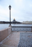 Embankment In St. Petersburg Royalty Free Stock Photo