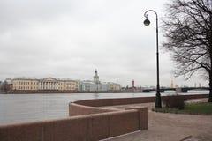 Embankment In St. Petersburg Stock Images