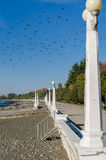 Embankment in Sukhumi Stock Photo