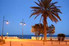 Embankment in Torrevieja Stock Images