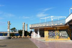 Embankment in Torrevieja Royalty Free Stock Photos